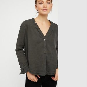 Free People Changing horizon pullover Top NWT